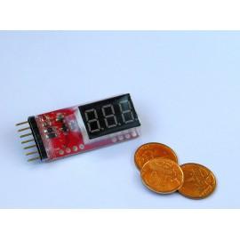 Вольтметр для литиевых аккумуляторов